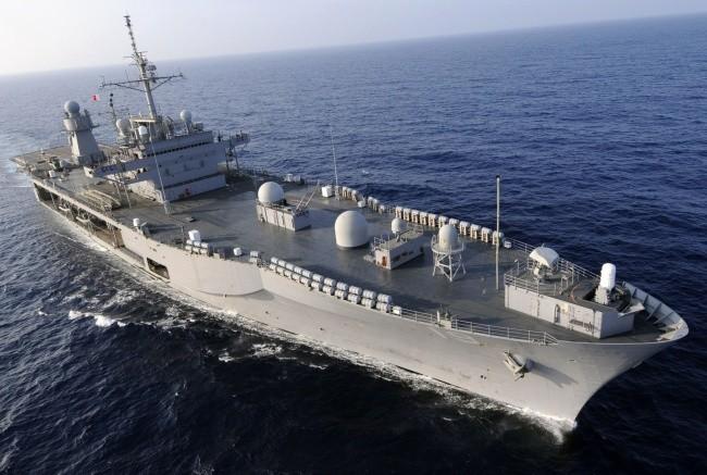 揚陸指揮艦ブルーリッジ