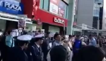 安倍総理街頭演説 TBS