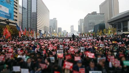 朴槿恵デモ