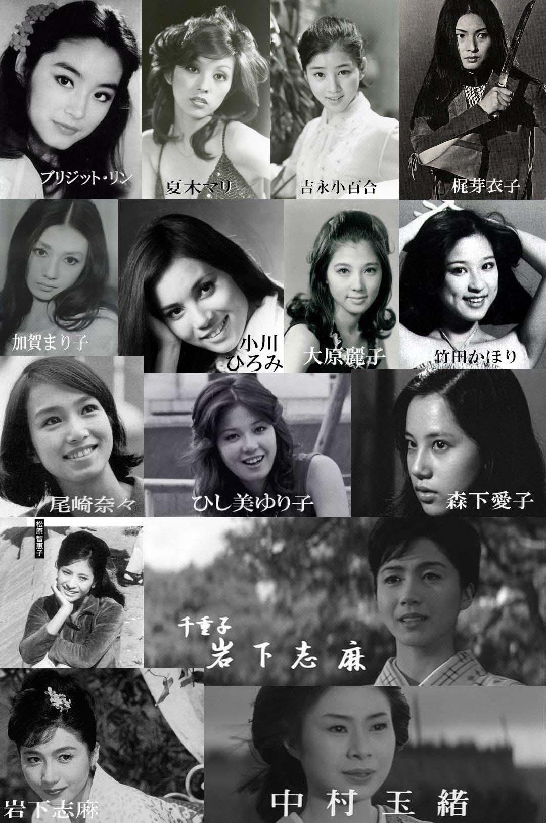 昔の美人女優