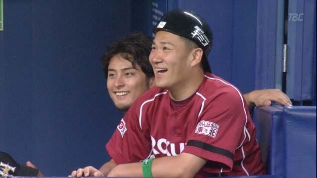 楽しそうなダル、川崎、田中(同級生)の会話に加わりたそうな斎藤3