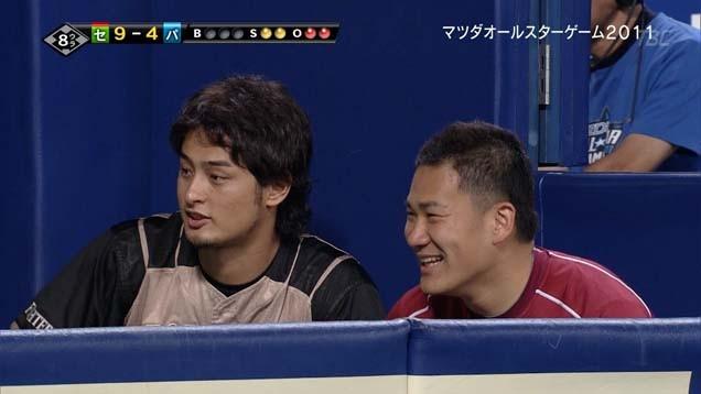 楽しそうなダル、川崎、田中(同級生)の会話に加わりたそうな斎藤