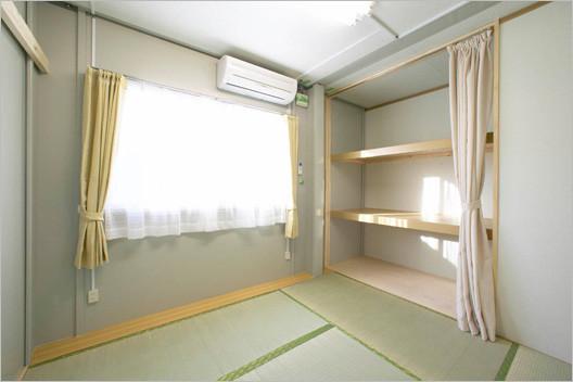 新潟中越地震の時の仮設住宅2
