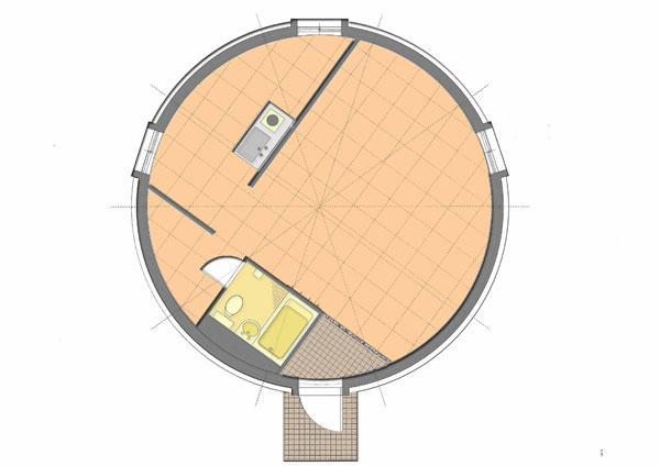 ドーム型ハウス4