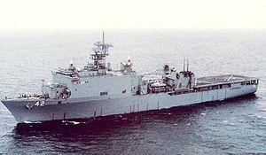 ドック型揚陸艦ジャーマン・タウン