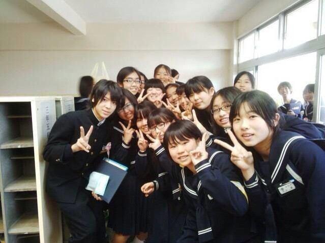 松島聡 卒業記念写真