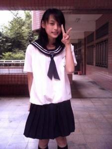 台湾女子高生2