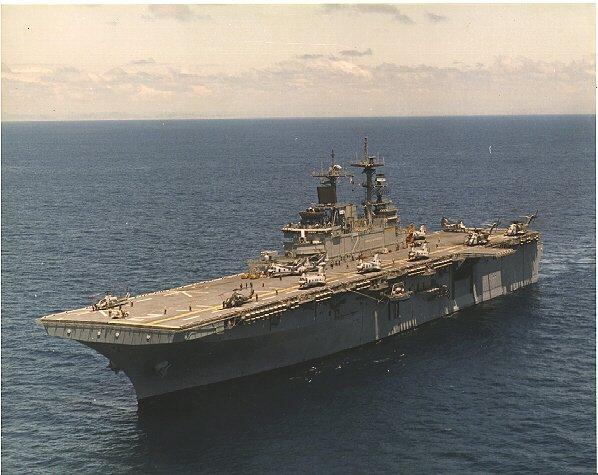 強襲揚陸艦エセックス