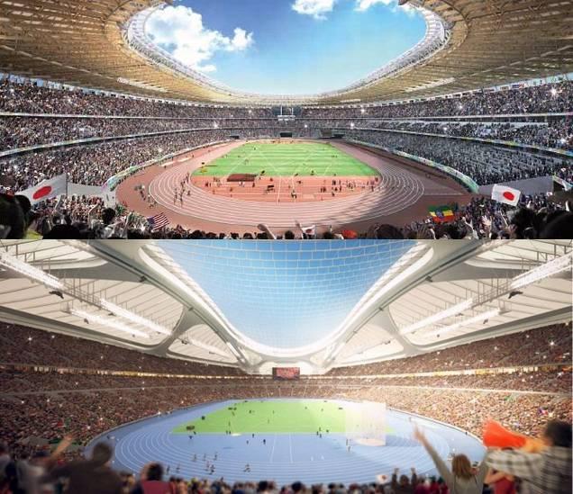 新国立競技場のA案、ザハのパクリだった ザハ氏「我々のデザインに驚くほど似ている」