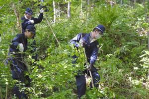 北海道しつけ置き去りで消防の捜索