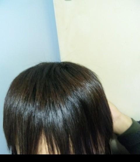 ツヤサラ髪