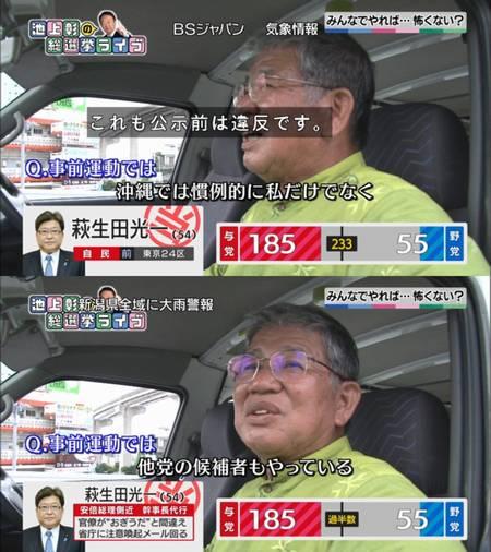 共産党赤嶺政賢 公選法違反