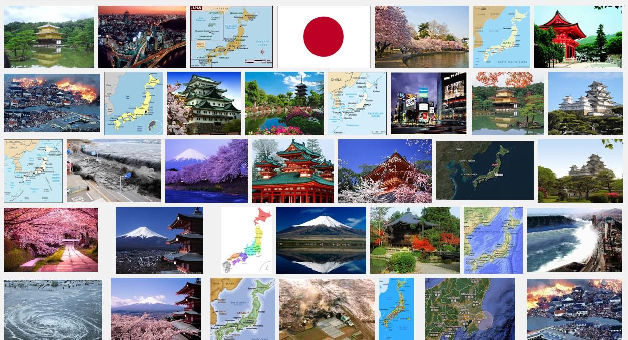世界から見た日本のイメージ