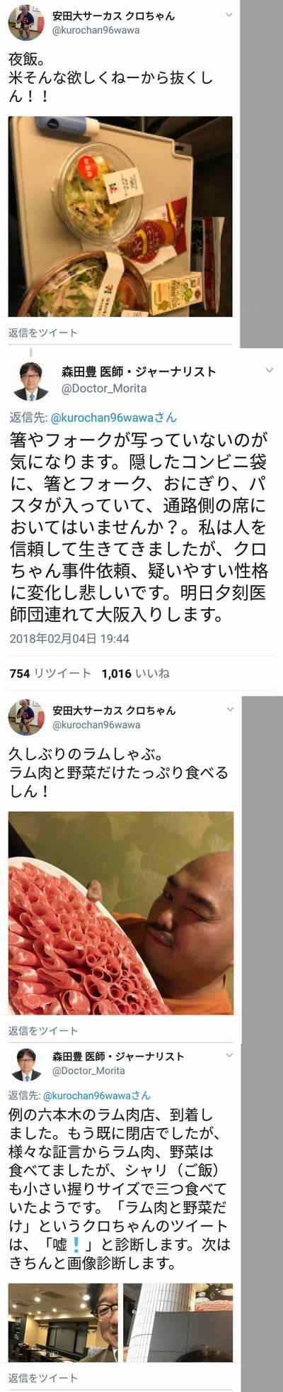 クロちゃんダイエット 森田豊
