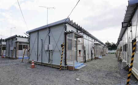 陸前高田市の仮設住宅2