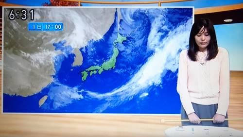 イジメ? NHK山形のお天気キャスター岡田みはるさん、本番中に突然泣き出す放送事故(動画)