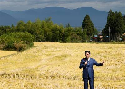 安倍総理 福島 演説