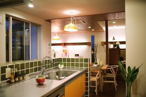 昭和住宅公園キッチンデザインのいい工務店ハウスメーカー