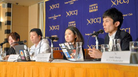 SEALDsが『記者会見で組織解散を宣言して』最終局面に突入。外国人特派員の前で日本の恥を晒す