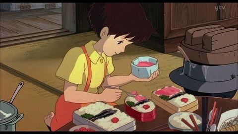 【ジブリ】サツキの作る弁当がデブまっしぐらだった件
