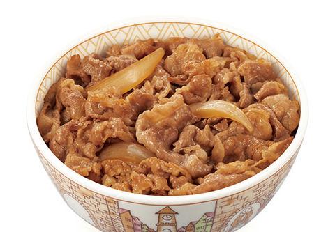 【糖質制限】牛丼屋で上だけ食ってライス残すやつが急増www