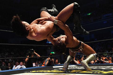 プロレスとかいう60歳超えても出来る格闘技wwww