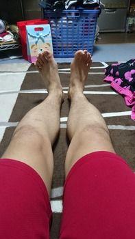 俺の足かっこ良すぎワロタwww(※画像あり)