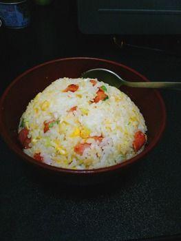 ワイ大学生、激ウマ炒飯を作ってしまう(※画像あり)