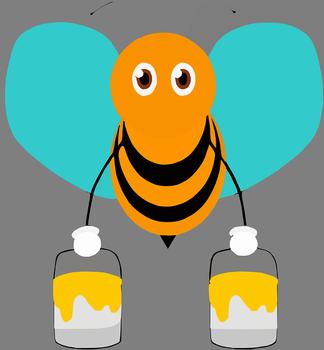 ミツバチ「今日も頑張ってハチミツ作るンゴ!」 →