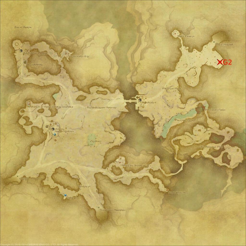 地図 た Ff14 古ぼけ