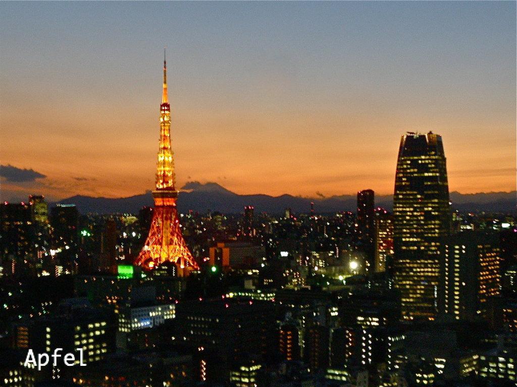 夜の東京タワーから、メリークリスマス!