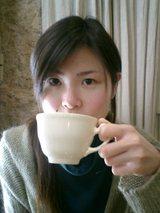 yo tomando un te