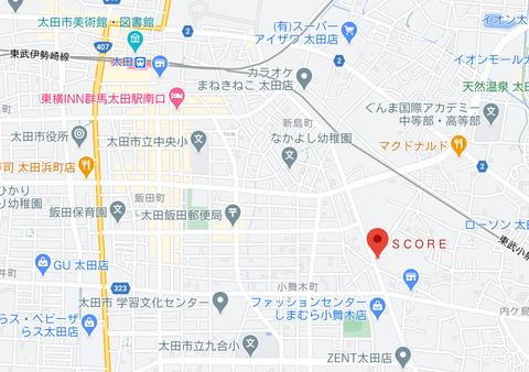 SCORE地図