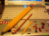 big pencil!!