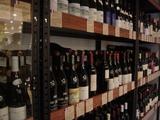 充実のワインセラー