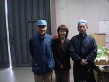 青島社長と松下さんとご一緒に