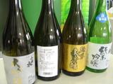 森本酒造利き酒4種
