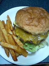 思わず英語で hamburger