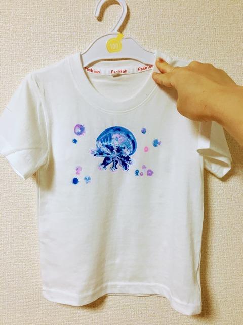 クラゲTシャツ2