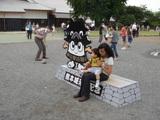 熊本城 らちられて・・・