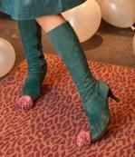 【衣装】ブーツ緑m