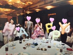 結婚式モザイク