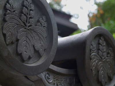 屋根瓦の家紋