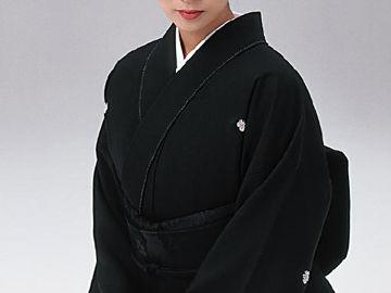 黒紋付着物_喪服