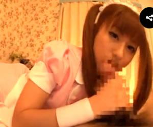 【成瀬心美】ツインテのメイドさんの過激な不貞マッサージ@癒しの手こき→本番で安眠w
