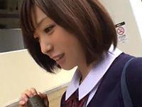 【素人】こんなあどけない娘18が卒業式当日に自宅でAV撮影する時代…