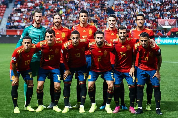 20191015_Spain-National-Team-GettyImages