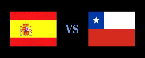 スペインVSチリ