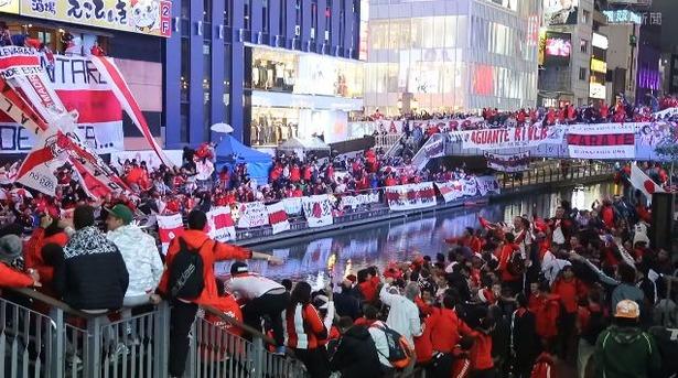 【悲報】道頓堀でリーベル・プレートサポーターが強盗…サッカークラブW杯で大挙来日