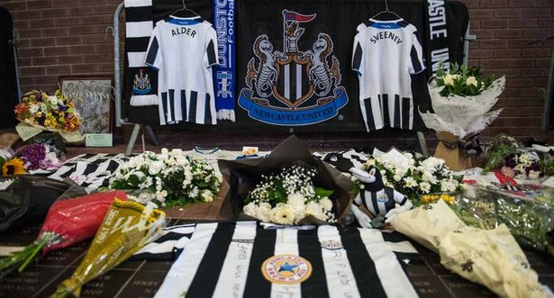 720p-Newcastle Fans Plane Crash